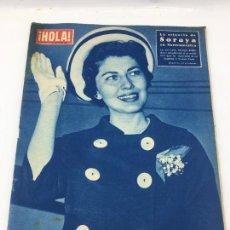 Coleccionismo de Revista Gaceta Ilustrada: HOLA - Nº 714 - MAYO DE 1958 - MARGARITA DE INGLATERRA EN TRINIDAD - LANA TURNER Y SU HIJA. Lote 227474295