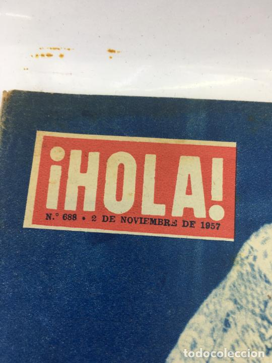 Coleccionismo de Revista Gaceta Ilustrada: HOLA - Nº 688 - NOVIEMBRE 1957 .- BODA DE LOLA FLORES - Foto 2 - 227474725