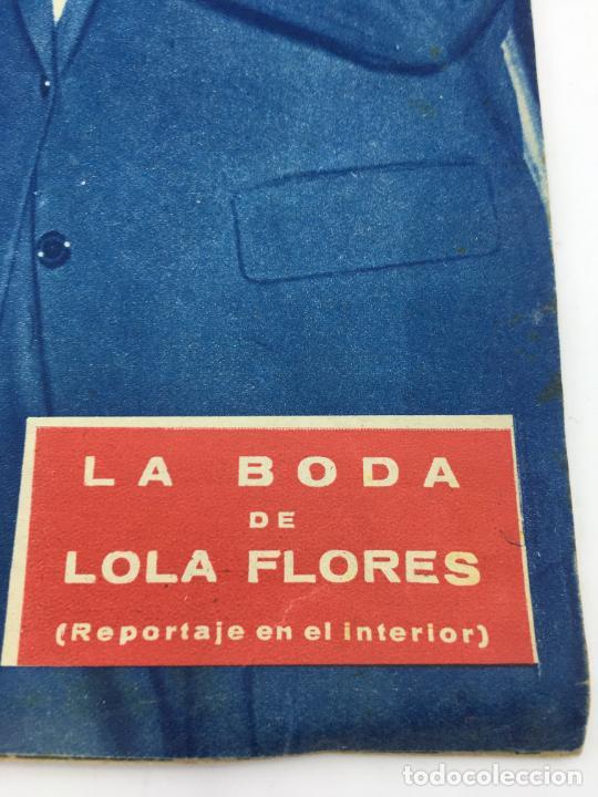 Coleccionismo de Revista Gaceta Ilustrada: HOLA - Nº 688 - NOVIEMBRE 1957 .- BODA DE LOLA FLORES - Foto 3 - 227474725