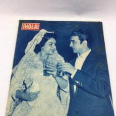 Coleccionismo de Revista Gaceta Ilustrada: HOLA - Nº 688 - NOVIEMBRE 1957 .- BODA DE LOLA FLORES. Lote 227474725