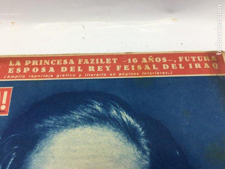 Coleccionismo de Revista Gaceta Ilustrada: ¡HOLA! - NUM 683 - 26 SEPTIEMBRE 1957 - MATRIMONIO REY FEISAL - Foto 3 - 227477050