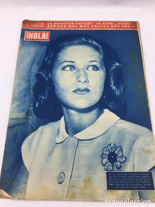 ¡HOLA! - NUM 683 - 26 SEPTIEMBRE 1957 - MATRIMONIO REY FEISAL (Coleccionismo - Revistas y Periódicos Modernos (a partir de 1.940) - Revista Gaceta Ilustrada)