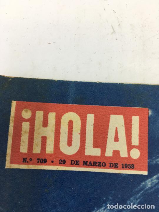 Coleccionismo de Revista Gaceta Ilustrada: HOLA - Nº 709 - 29 MARZO 1958 - LIZ TAYLOR - SORAYA - MARIA CALLAS - Foto 2 - 227478515