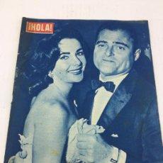 Coleccionismo de Revista Gaceta Ilustrada: HOLA - Nº 709 - 29 MARZO 1958 - LIZ TAYLOR - SORAYA - MARIA CALLAS. Lote 227478515