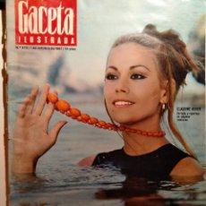 Coleccionismo de Revista Gaceta Ilustrada: LA GACETA ILUSTRADA. OCTUBRE 1967. LB 32. Lote 230740555