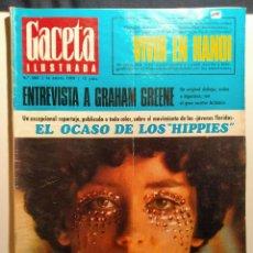 Coleccionismo de Revista Gaceta Ilustrada: LA GACETA ILUSTRADA. ENERO 1968. LB 32. Lote 230741440