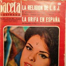 Coleccionismo de Revista Gaceta Ilustrada: LA GACETA ILUSTRADA. MARZO 1965 LB 32. Lote 230742115