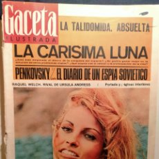 Coleccionismo de Revista Gaceta Ilustrada: LA GACETA ILUSTRADA. ENERO 1966. LB 32. Lote 230743345