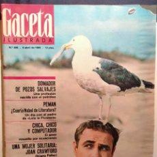 Coleccionismo de Revista Gaceta Ilustrada: LA GACETA ILUSTRADA. ABRIL. 1966. LB 32. Lote 230743960