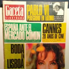 Coleccionismo de Revista Gaceta Ilustrada: LA GACETA ILUSTRADA. MAYO1967. LB 32. Lote 230744590
