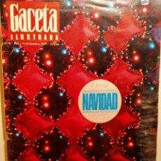 Coleccionismo de Revista Gaceta Ilustrada: LA GACETA ILUSTRADA. EXTRA NAVIDAD 1967. LB 32. Lote 230745770