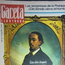 Collectionnisme de Magazine Gaceta Ilustrada: REVISTA GACETA ILUSTRADA Nº 712 - 31 MAYO 1970. BECQUER. MANOLO ORANTES. CANONIZACION JUAN DE AVILA. Lote 232172835