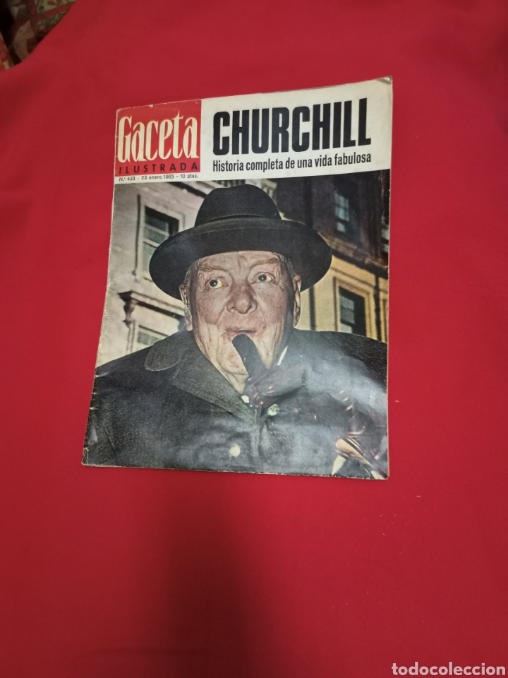 REVISTA GACETA ILUSTRADA NÚMERO 433 AÑO 1965 (Coleccionismo - Revistas y Periódicos Modernos (a partir de 1.940) - Revista Gaceta Ilustrada)
