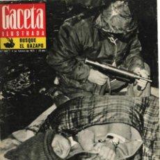 Coleccionismo de Revista Gaceta Ilustrada: GACETA ILUSTRADA. 852. FEBRERO 1973. HUARTE EN MANOS DE LA ETA. Lote 243844875