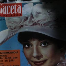 Coleccionismo de Revista Gaceta Ilustrada: GACETA ILUSTRADA Nº 402 AUDREY HEPBURN BEATLES 1964. Lote 245724920