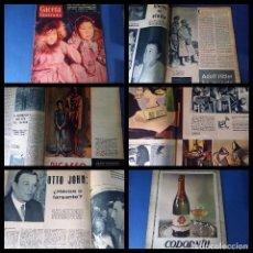 Coleccionismo de Revista Gaceta Ilustrada: GACETA ILUSTRADA Nº 7 -1956 -PICASSO-HITLER-OTTO JOHN....BUEN ESTADO. Lote 247201715