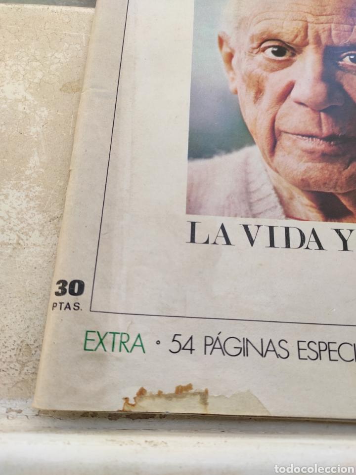 Coleccionismo de Revista Gaceta Ilustrada: Revista Gaceta Ilustrada N°863 - año 1973 - Especial La Vida y La Obra de Pablo Picasso - Foto 2 - 253014250