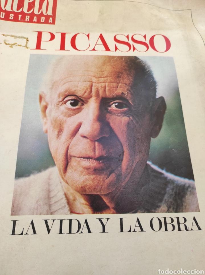 Coleccionismo de Revista Gaceta Ilustrada: Revista Gaceta Ilustrada N°863 - año 1973 - Especial La Vida y La Obra de Pablo Picasso - Foto 5 - 253014250