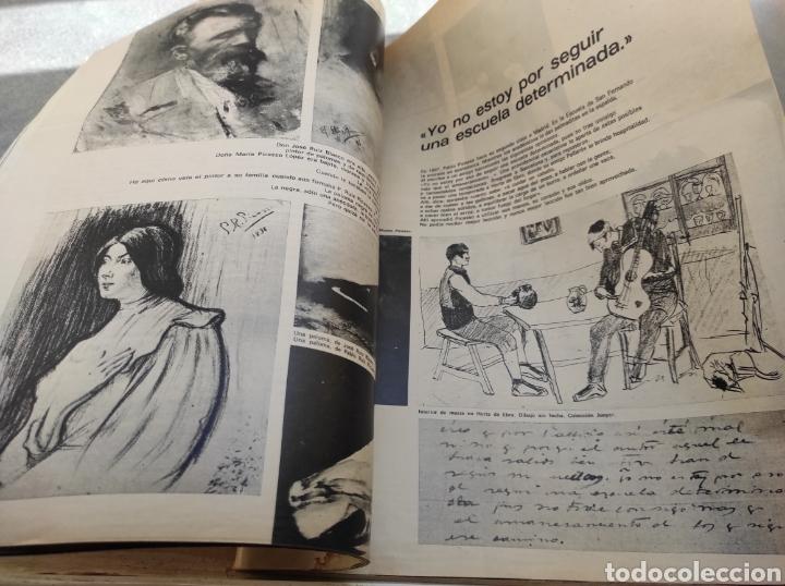 Coleccionismo de Revista Gaceta Ilustrada: Revista Gaceta Ilustrada N°863 - año 1973 - Especial La Vida y La Obra de Pablo Picasso - Foto 15 - 253014250