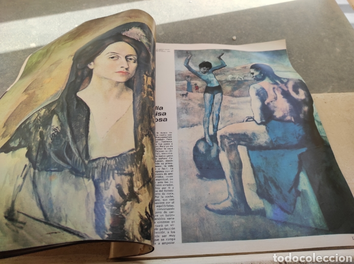 Coleccionismo de Revista Gaceta Ilustrada: Revista Gaceta Ilustrada N°863 - año 1973 - Especial La Vida y La Obra de Pablo Picasso - Foto 18 - 253014250