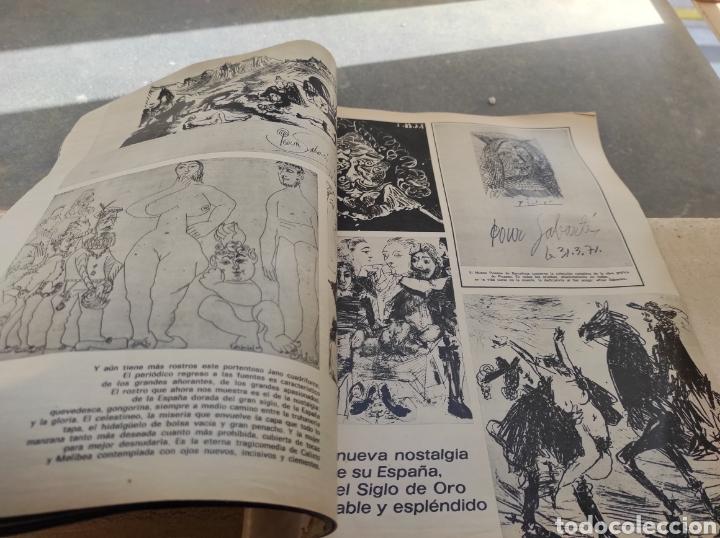 Coleccionismo de Revista Gaceta Ilustrada: Revista Gaceta Ilustrada N°863 - año 1973 - Especial La Vida y La Obra de Pablo Picasso - Foto 19 - 253014250