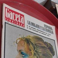 Coleccionismo de Revista Gaceta Ilustrada: LA GACETA ILUSTRADA .NUM : 689, 1969.. Lote 254924015