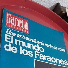 Coleccionismo de Revista Gaceta Ilustrada: LA GACETA ILUSTRADA .NUM : 736, 1970.. Lote 254924095