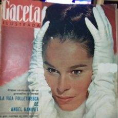 Coleccionismo de Revista Gaceta Ilustrada: REVISTA GACETA ILUSTRADA ( N° 479, 11DE DICIEMBRE 1965). Lote 262428155