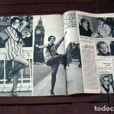 Coleccionismo de Revista Gaceta Ilustrada: REVISTA GACETA ILUSTRADA / MASSIEL, MARTIN LUTHER KING, MISS FRANCIA, FRANCE. Lote 262431525