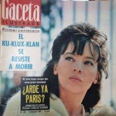 Coleccionismo de Revista Gaceta Ilustrada: REVISTA GACETA ILUSTRADA ( N° 478, 4 DICIEMBRE 1965). Lote 262432020