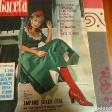 Coleccionismo de Revista Gaceta Ilustrada: GACETA ILUSTRADA Nº 476, AMPARO SOLER LEAL. Lote 264493734