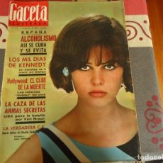Coleccionismo de Revista Gaceta Ilustrada: GACETA ILUSTRADA Nº 474, LOS MIL DIAS DE KENNEDY. Lote 264493884
