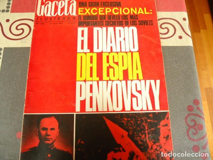 GACETA ILUSTRADA Nº 484 (Coleccionismo - Revistas y Periódicos Modernos (a partir de 1.940) - Revista Gaceta Ilustrada)