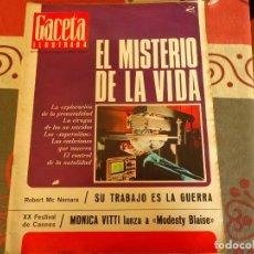 Coleccionismo de Revista Gaceta Ilustrada: GACETA ILUSTRADA Nº 521, SOFIA LOREN. Lote 264494524