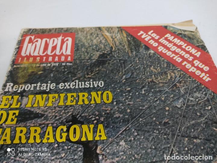 LA GACETA ILUSTRADA REPORTAJE EXCLUSIVO EL INFIERNO DE TARRAGONA (Coleccionismo - Revistas y Periódicos Modernos (a partir de 1.940) - Revista Gaceta Ilustrada)