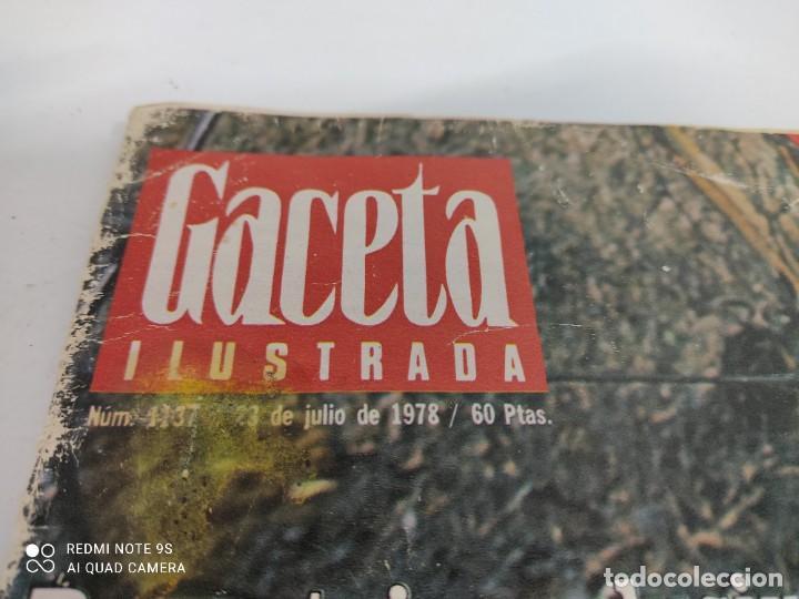 Coleccionismo de Revista Gaceta Ilustrada: LA GACETA ILUSTRADA Reportaje exclusivo el infierno de Tarragona - Foto 2 - 264723409