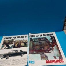 Coleccionismo de Revista Gaceta Ilustrada: COMPRE POR 100.000 PTS..2000.CM CÚBICOS DE AUTOMOVIL..PAGINAS PUBLICADAS EN LA GACETA ILUSTRADA .. Lote 267497444