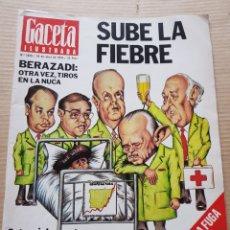 Coleccionismo de Revista Gaceta Ilustrada: GACETA ILUSTRADA 1019 1976 RADIO LIBERTY JUAN AJURIAGUERRA DUWUESA DE MEDINASIDONIA. Lote 270956338