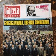 Coleccionismo de Revista Gaceta Ilustrada: REVISTA GACETA ILUSTRADA N° 622 (8 SEPTIEMBRE 1968). Lote 271468783