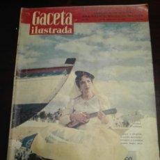 Coleccionismo de Revista Gaceta Ilustrada: GACETA ILUSTRADA LA BODA DE LOLA FLORES 2 NOVIEMBRE 1957 NÚM 56. Lote 272703953