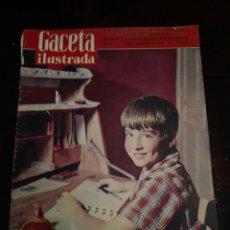 Coleccionismo de Revista Gaceta Ilustrada: GACETA ILUSTRADA PABLITO CALVO 23 NOVIEMBRE 1957 NÚM 59. Lote 272704588