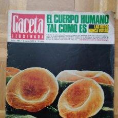 Coleccionismo de Revista Gaceta Ilustrada: REVISTA GACETA ILUSTRADA 700. LOS PANTERAS NEGRAS EL CUERPO HUMANO AVION SR 71 SHARON TATE VER FOTOS. Lote 275784948