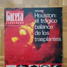 Coleccionismo de Revista Gaceta Ilustrada: REVISTA GACETA ILUSTRADA 789 TENEGUIA LUCY BALL PADRE PIO LOS FALSOS CABALLEROS DE MALTA HOUSTON +. Lote 275785223