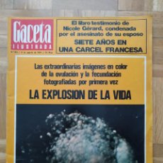 Coleccionismo de Revista Gaceta Ilustrada: REVISTA GACETA ILUSTRADA 931 DE NUEVO EN EL PARDO, FRANCO. NIXON JOHN LENNON BRIGITTE BARDOT VER FOT. Lote 275785868