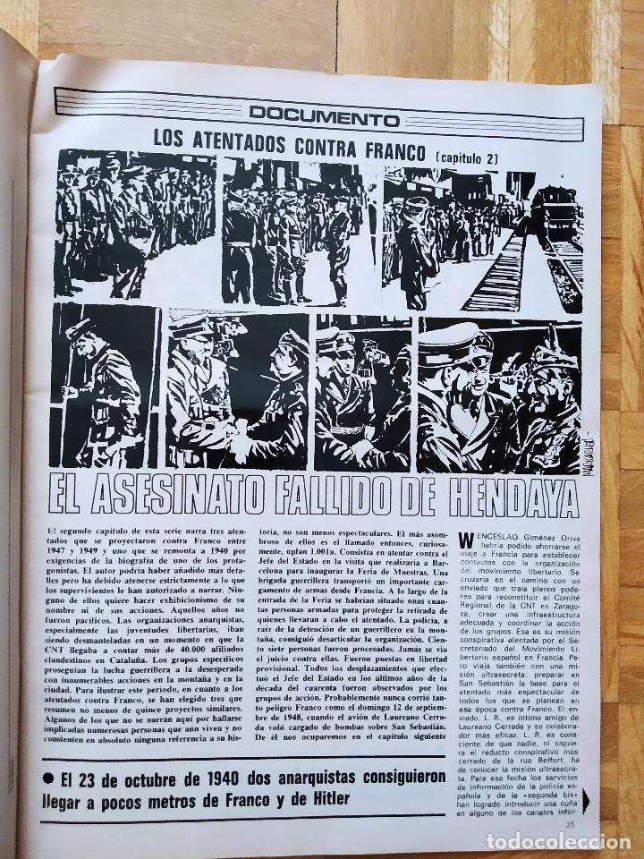 Coleccionismo de Revista Gaceta Ilustrada: REVISTA GACETA ILUSTRADA 1044 LOS ATENTADOS CONTRA FRANCO.ROCIO JURADO LOS BEATLES ROBERT REDFORD - Foto 3 - 275787043