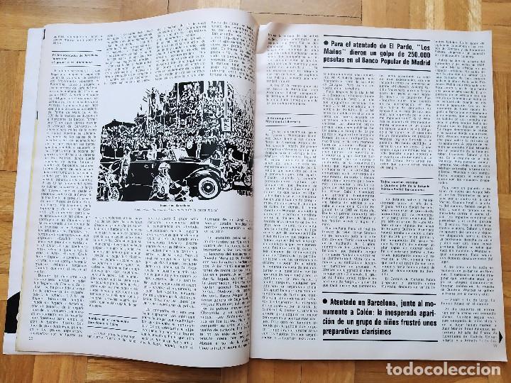 Coleccionismo de Revista Gaceta Ilustrada: REVISTA GACETA ILUSTRADA 1044 LOS ATENTADOS CONTRA FRANCO.ROCIO JURADO LOS BEATLES ROBERT REDFORD - Foto 4 - 275787043