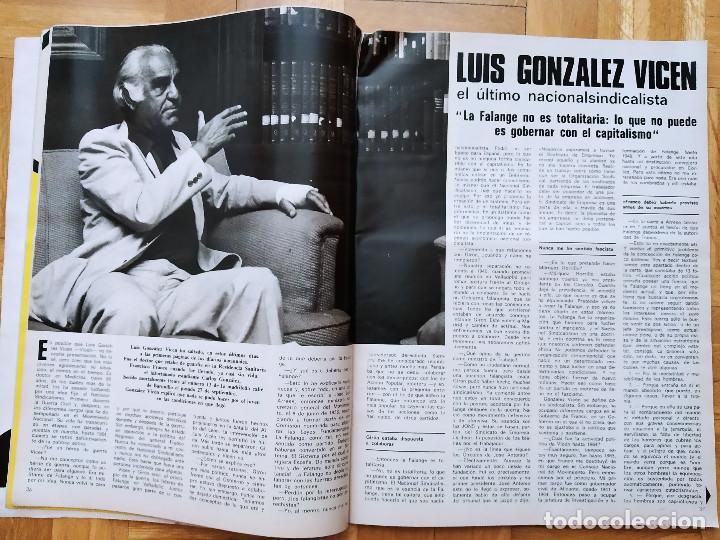 Coleccionismo de Revista Gaceta Ilustrada: REVISTA GACETA ILUSTRADA 1044 LOS ATENTADOS CONTRA FRANCO.ROCIO JURADO LOS BEATLES ROBERT REDFORD - Foto 5 - 275787043