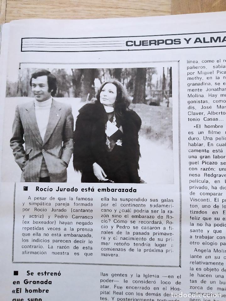 Coleccionismo de Revista Gaceta Ilustrada: REVISTA GACETA ILUSTRADA 1044 LOS ATENTADOS CONTRA FRANCO.ROCIO JURADO LOS BEATLES ROBERT REDFORD - Foto 8 - 275787043