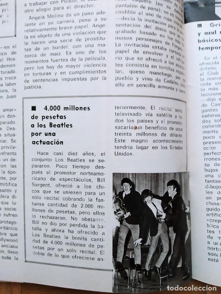 Coleccionismo de Revista Gaceta Ilustrada: REVISTA GACETA ILUSTRADA 1044 LOS ATENTADOS CONTRA FRANCO.ROCIO JURADO LOS BEATLES ROBERT REDFORD - Foto 9 - 275787043