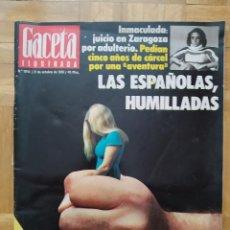 Coleccionismo de Revista Gaceta Ilustrada: REVISTA GACETA ILUSTRADA 1045 ATENTADO FRANCO SUSANA ESTRADA BARBARA REY ALICIA ALONSO. VER FOTOS. Lote 275787733